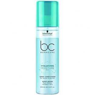 Schwarzkopf Professional Bc Hyaluronic Moisture Kick Spray Conditioner, Blue, 200 ml