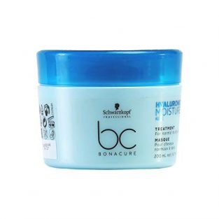 Schwarzkopf Professional Bc Hyaluronic Moisture Kick Treatment, Blue, 200 ml