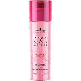 Schwarzkopf Professional Bc Peptide Repair Rescue Conditioner, Red, 200 ml