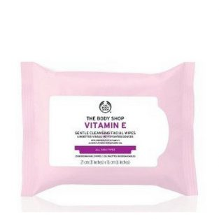 The Body Shop Vitamin E Gentle Facial Cleansing Wipes (Standard) 25 Pieces