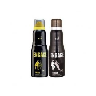 Engage Man Deo Spray Combo Urge & Frost 150ml each