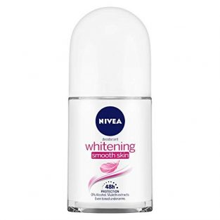 NIVEA Deodorant Roll-on, Whitening Smooth Skin, 50ml and NIVEA MEN Deodorant Roll-on, Fresh Active Original, 50ml