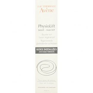 Avene Physiolift Night Smoothing Balm, 30ml