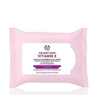 The Body Shop Vitamin E Gentle Facial Cleansing Wipes – 1pc