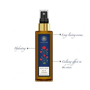 Forest Essentials Rose and Cardamom Body Mist, 100ml