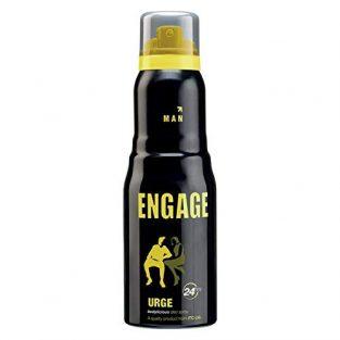 Engage Urge Deodorant For Men,165ml/110g