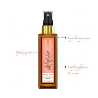 Forest Essentials Sandalwood and Vetiver Body Mist, 100ml