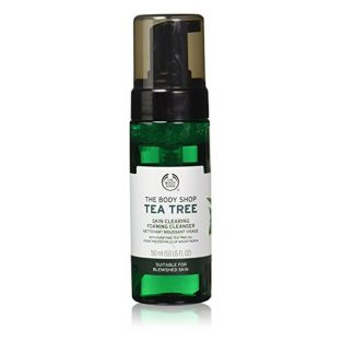 The Body Shop Tea Tree Skin Clearing Foaming Cleanser, 150ml