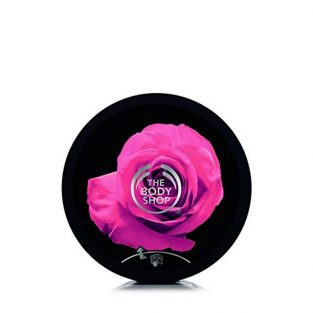 The Body Shop British Rose Exfoliating Gel Body Scrub, 250ml