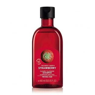 The Body Shop Strawberry Clearly Glossing Shampoo, 400 ml