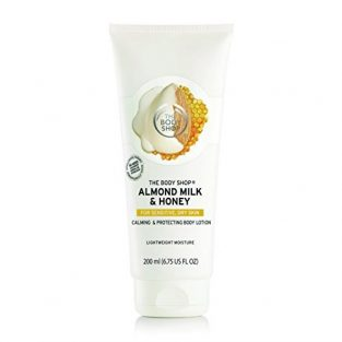 The Body Shop Almond Milk and Honey Soothing and Restoring Body Lotion, 200ml