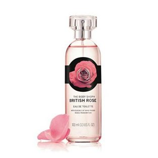 The Body Shop British Rose Eau De Toilette, 100ml