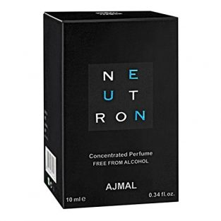 Ajmal Neutron Concentrated Citrus Perfume Free From Alcohol 10ml for Men