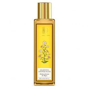 Forest Essentials Madurai Jasmine and Mogra Silkening Shower Wash, 200ml