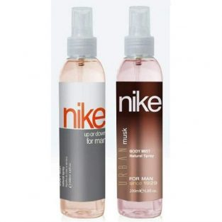 Nike Up or Down & Urban Musk Man Bodymist Spray - Pack Of 2 (200ml Each)