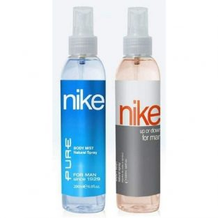Nike Pure & Up or Down Man Bodymist Spray - Pack Of 2 (200ml Each)